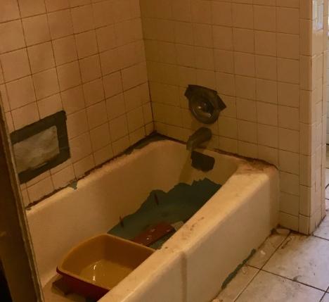 Nasty old tub