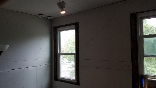 Drywall around windows, light fixtures, and air vents in HARD
