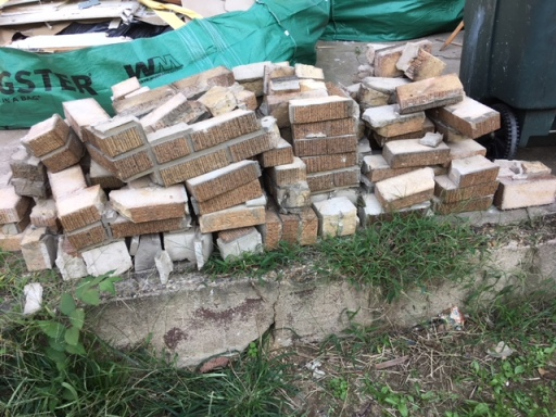 Tons of old bricks...what should we do with them?